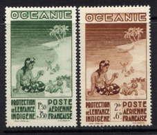 OCEANIE - A4/5* - PROTECTION DE L'ENFANCE INDIGENE - Oceania (1892-1958)