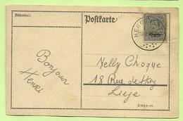 BZ 86 (opdruk Eupen) Op Brief Stempel HERGENRATH  (Rare Bureau !!!!) (276) - Guerre 14-18