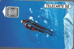 Telecarte 50 - XVIèmes Jeux Olympiques D'hiver, 1992 - Sport