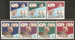 HAITI 1966, Space Flights  Mi. 867/73 - Yv. 552/55+A332/34 Serie Cpl. 7v. Usati - Haiti