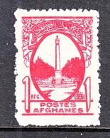 AFGHANISTAN   287    * - Afghanistan