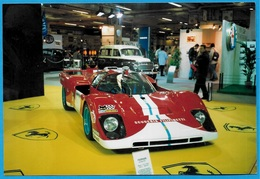 PHOTO Voiture De Sport FERRARI Scuderia FILIPINETTI - Salon Automobile ** Auto Course Racing Car - Automobili