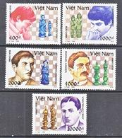 VIETNAM 2496-2500    **  CHESS  CHAMPIONS - Chess