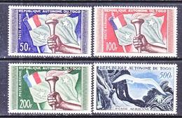 FRENCE  TOGO  C 22-25   **  FLAG  &  EAGLE - Togo (1914-1960)