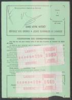 12219 PROMO Distributeur 39.60+4.40 Ordre De Réexpédition Définitif - Vignettes D'affranchissement