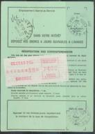 12250 PROMO Distributeur 74 Ordre De Réexpédition Définitif - Vignettes D'affranchissement