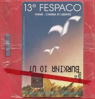 Burkina Faso -  BKF-22 ONATEL, 13th Fespaco Filmfestival (SC5), 11/92, Mint NSB As Scan - Burkina Faso
