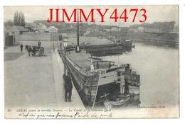 CPA - Le Canal Et Le Nouveau Quai Avant La Guerre - ARRAS 62 Pas De Calais - N° 19 - Edit. Charles Ledieu - Recto-Verso - Arras