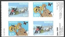 Norway   2000   Sc#1271a  Comic Strips Booklet Pane  MNH  2016 Scott Value $6 - Norvegia