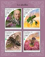 Guinea  2018 Bees   Fauna  S201811 - República De Guinea (1958-...)