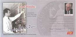 Romania / Postal Stationery / Ionel Haiduc - Celebridades