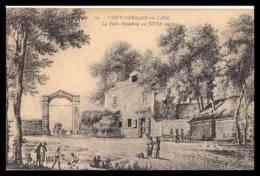 SAINT GERMAIN EN LAYE - LA PORTE DAUPHINE AU XVIII E - (CPA ) - St. Germain En Laye (Castillo)