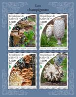 Guinea  2018   Mushrooms  S201811 - Guinée (1958-...)