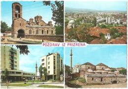 XK - Pozdrav Iz Prizrena - Multivues / Multiview / Mehrbildkarte (4) - [Prizren - Kosovo] - Kosovo