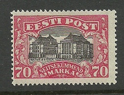 Estland Estonia 1924 Theater Michel 56 * - Estland