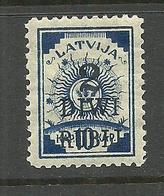 LATVIA Lettland 1920 Michel 58 * - Lettonia