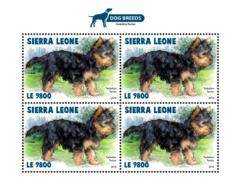 Sierra Leone 2018 Dogs  S201811 - Sierra Leone (1961-...)