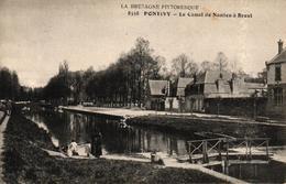 PONTIVY -56- LE CANAL DE NANTES A BREST - Pontivy