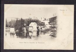 CPA 27 - VERNONNET - VERNON - Vieux Pont Et Tourelles De Vernonnet - TB PLAN Château Et Cours D'eau - Altri Comuni
