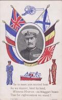 MILITARIA - GUERRE DE 1914 -18 - UNITES MARINE - UNITES WE STAND - Guerre 1914-18