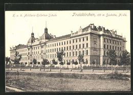 AK Traiskirchen, Blick Zur K. U. K. Artillerie-Kadettenschule - Austria