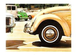 [MD2466] CPM - AUTO D'EPOCA DON EDDY - VOLKSWAGEN 1971 - Non Viaggiata - Cartoline