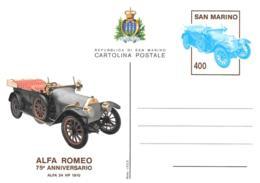 [MD2467] CPM - AUTO D'EPOCA ALFA ROMEO 75° ANNIVERSARIO ALFA 24 HP 1910 -  - Non Viaggiata - Cartoline