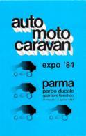 [MD2469] CPM - PARMA - EXPO 1984 - PARCO DUCALE QUARTIERE FIERISTICO  - AUTO MOTO CARAVAN - Non Viaggiata - Parma