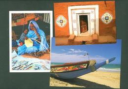 Mauritania, Mauritanie - Afrique, Africa - Lot 3 Postcards Cartes Postales - - Mauritania