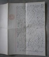 Moerbeke-Waas 1925. Akte. - Manuscrits