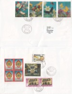 Bhutan  2018  Three Dimensin  Butterflies And Other Stamps ( 12 ) On Commercial Cover To India   # 15451  D  Inde Indien - Bhutan
