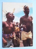 Afrique En Couleurs / Folklore D'Afrique Noir ( 7356 - IRIS ) Anno 19?? ( Zie / Voir Photo ) ! - Cartes Postales