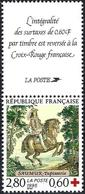 France 1995 - King Louis XIII ( Mi 3091C - YT 2946a ) MNH** + Vignette - France