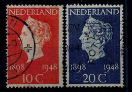 Nederland 1948: Wilhelmina - 50 Jaar De Koningin. Gebruikt (o) - Periode 1891-1948 (Wilhelmina)