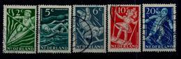 Nederland 1948: Kinderzegels. Gebruikt (o) - Periode 1891-1948 (Wilhelmina)