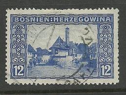 BOSNIA-HERZEGOWINA 1912 Michel 61 O - Bosnien-Herzegowina