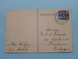 Briefkaart Verstuurd Vanuit MECHELEN Bij GULPEN () Anno 1940 Naar Belgijen ( Zie / Voir Photo ) ! - Postal Stationery