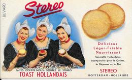 Buvard - STEREO - TOAST HOLLANDAIS - ROTTERDAM- HOLLANDE - Cake & Candy