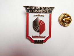 Beau Pin's , Basket , Western Division Champions , Trail Blazers De Portland - Basketbal