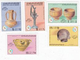 Libya 1981,Tripoli Fair Set Of 5 Stamps Compl.set MNh Ceramics- Reduced Price - Skrill Pay Only - Libië