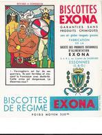 Buvard - BISCOTTES EXONA - S.A.R.L. ESSONNES - - Biscottes