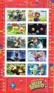 France.bloc No 91 De 2005.collection Jeunesse.heros Des Jeux Video.n**. - Blocchi & Foglietti