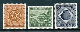 LIECHTENSTEIN Mi. Nr. 319-321 Eröffnung Des Landesmuseums, Vaduz: - MNH - Liechtenstein