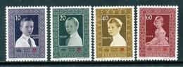 LIECHTENSTEIN Mi. Nr. 338-341 10 Jahre Liechtensteinisches Rotes Kreuz  - MNH - Liechtenstein