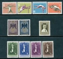 LIECHTENSTEIN Mi. Nr. 342-352 Jahrgang 1956  - MNH - Liechtenstein