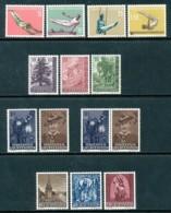 LIECHTENSTEIN Mi. Nr. 353-364 Jahrgang 1957  - MNH - Liechtenstein