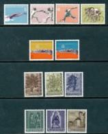 LIECHTENSTEIN Mi. Nr. 365-376 Jahrgang 1958  - MNH - Liechtenstein