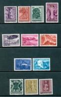 LIECHTENSTEIN Mi. Nr. 377-388 Jahrgang 1959  - MNH - Liechtenstein