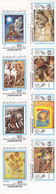 Libya Famous Paintings 2 Strip Of 4 Stamps - 8v. Complete Set MNH - Nice Tiopical Isue- Red.Price -= SKRILL PAY ONLY - Libië