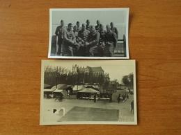 WW2 GUERRE 39 45 BRETAGNE NANTES SOLDATS ALLEMANDS MARCHE - Nantes